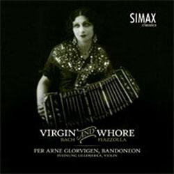 plateomslag for Per Arne Glorvigens Virgin and Whore