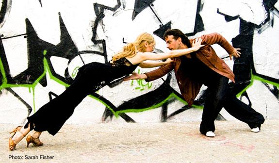 Pablo Inza og Eugenia Parilla i makeløs posisjon viser kjernen i hva tango nuevo dreier seg om