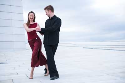 sacada tango på operataket i oslo