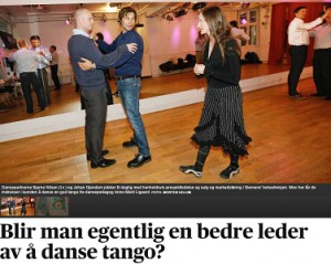 Tango tango i Aftenposten