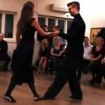 tangooppvisning i kristiansand, jul 2014